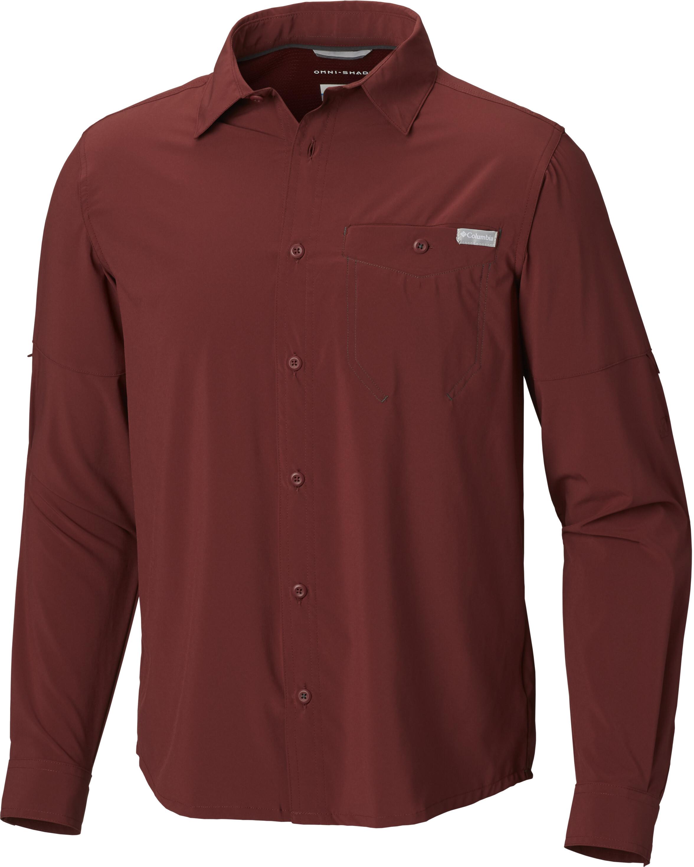 e7cbf20296 Columbia Triple Canyon Solid - Camiseta de manga larga Hombre - rojo ...